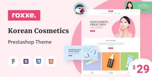 Roxxe - Responsive Multipurpose PrestaShop Theme - Health & Beauty PrestaShop