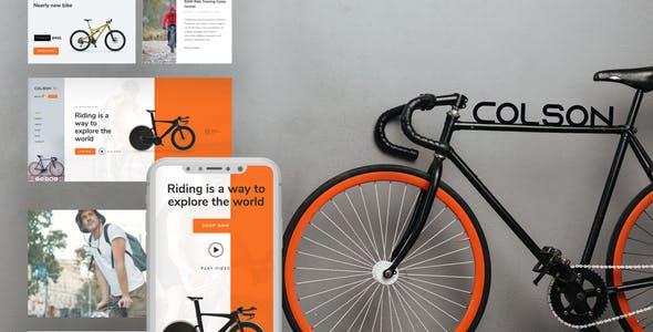 Colson – Bike WooCommerce Elementor Template Kit