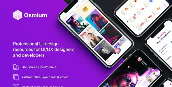 Osmium UI Kit for Figma