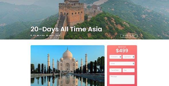 TraveX - Travel & Tour Agency Template Kit