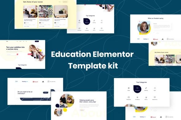 Edukit - Education Elementor Template Kit - Education Elementor