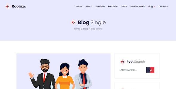Roobiza - Agency Landing Page Template