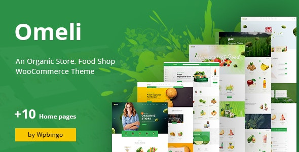 Omeli - Organic WooCommerce WordPress Theme - WooCommerce eCommerce