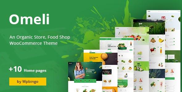 Omeli - Organic & Food WooCommerce WordPress Theme