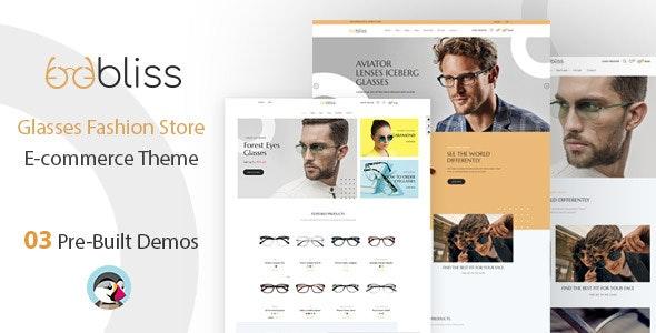 Oobliss Glasses Store - Responsive Prestashop Theme - Shopping PrestaShop