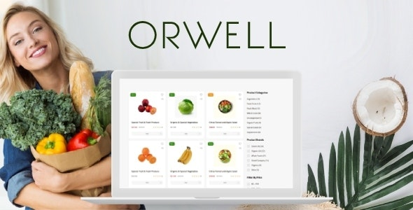 Orwell - Organic Food Store and Healthy Shop - Food Retail