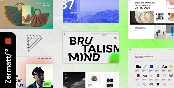 Zermatt - Multi-concept Agency Theme - Creative WordPress