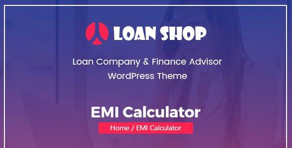 LoanShop – Loan Company & Finance Adviser WordPress Theme