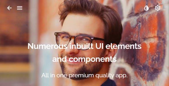 Alix: Multi Purpose PWA Mobile App Template
