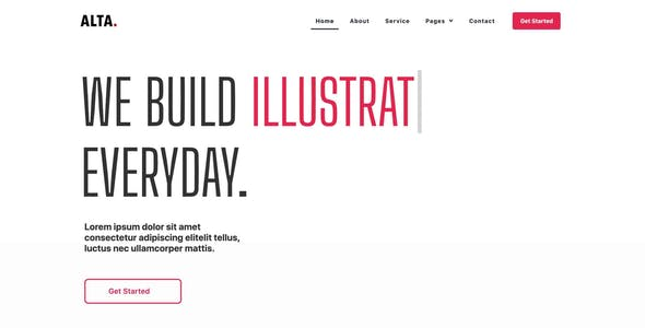 ALTA - Creative Agency Elementor Template Kit