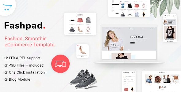 Fashpad - Opencart 3 Fashion Responsive Theme - Fashion OpenCart