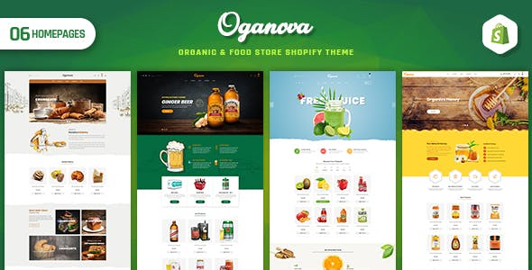 Oganova - Organic & Food Store Shopify Theme
