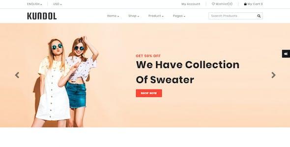 Kundol - Multipurpose Shopping PSD Template