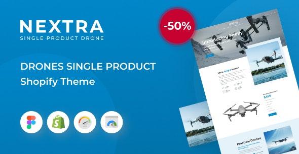 Nextra - Single Product eCommerce Shopify Theme, Electronics Store - Technology Shopify
