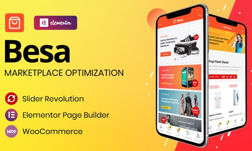 Besa - Elementor Marketplace WooCommerce WordPress Theme