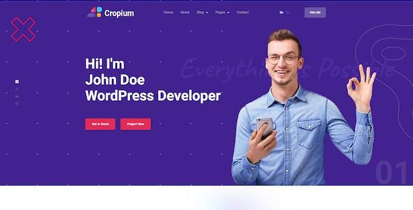 Cropium - Portfolio HTML Template