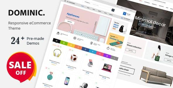 Dominic - Fashion, Organic, Food, Furniture & Multipurpose Prestashop Theme