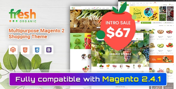 Fresh - Multipurpose Responsive Magento 2 Theme - Shopping Magento