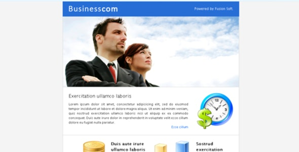 Business Fusion - Newsletters Email Templates