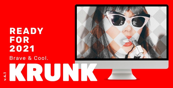 Krunk - Brave & Cool WordPress Blog Theme - News / Editorial Blog / Magazine