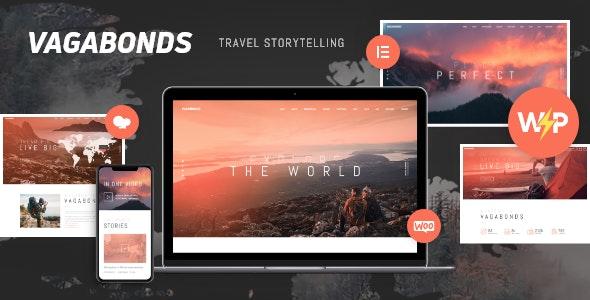 Vagabonds | Personal Travel & Lifestyle Blog WordPress Theme - Travel Retail