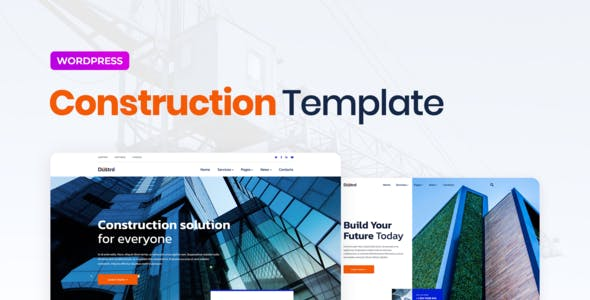 Dustro – Construction Company Elementor Template Kit