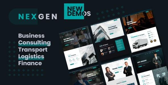 Nexgen - Consulting & Logistics HTML Template - Business Corporate