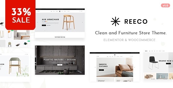 Reeco - Furniture WooCommerce WordPress Theme - WooCommerce eCommerce