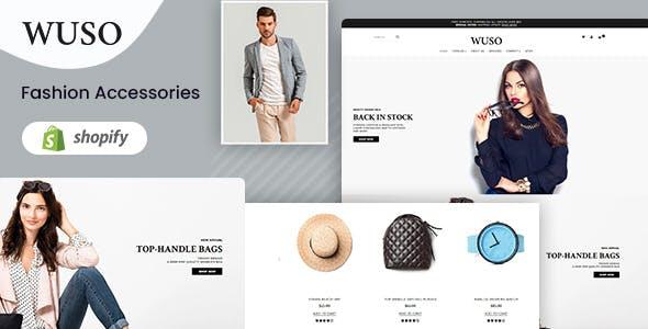 Wuso - Fashion Responsive Shopify Theme
