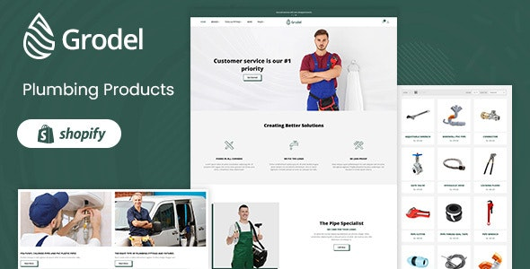 Grodel - Plumbing & Tools Store Shopify Theme - Technology Shopify