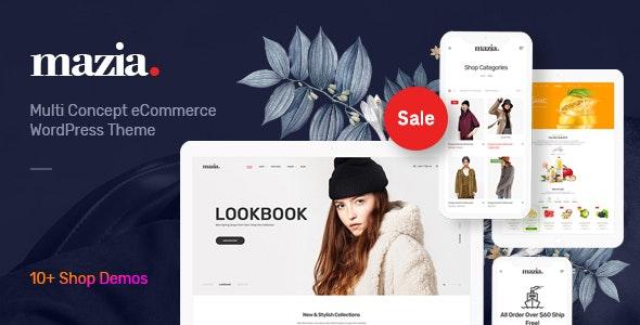Mazia - Multipurpose WooCommerce Theme - WooCommerce eCommerce