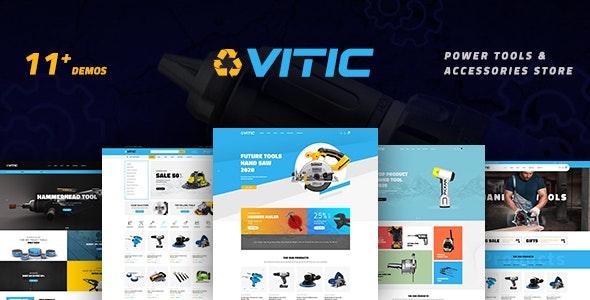 Vitic – Tools WooCommerce WordPress Theme - WooCommerce eCommerce
