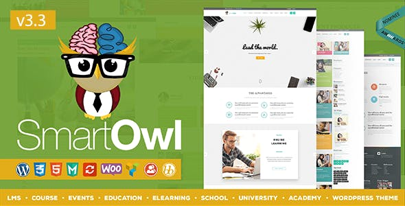 SmartOWL - LMS Education WordPress Theme