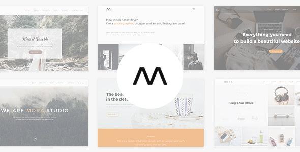Mora - Creative Portfolio & Photography Theme - Portfolio Creative