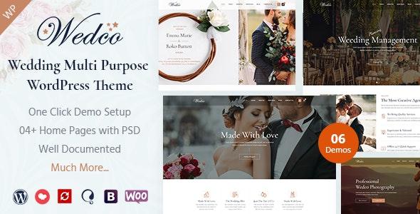 WedCo - Wedding WordPress Theme - Wedding WordPress