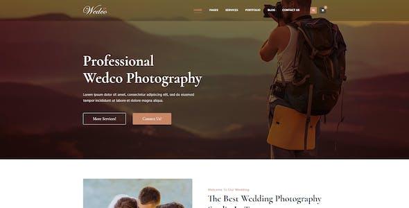 WedCo - Wedding WordPress Theme