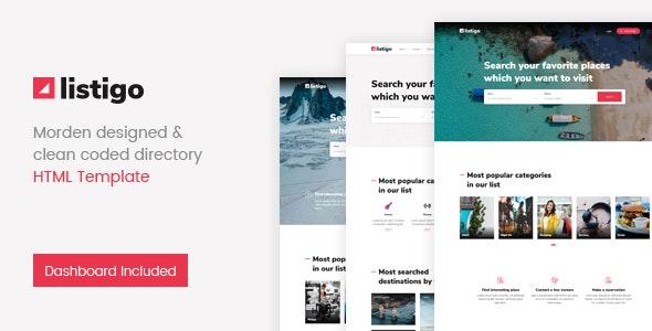 Listigo - Directory Bootstrap 4 Template - Business Corporate