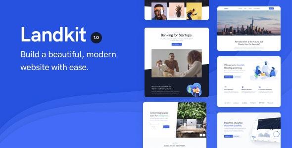 Landkit - Multipurpose Business WordPress Theme - Business Corporate