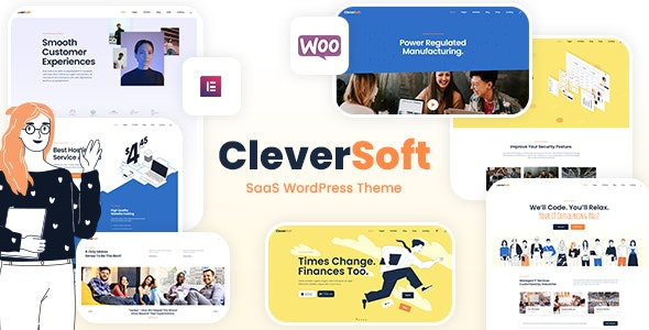 CleverSoft - SaaS WordPress Theme - Technology WordPress