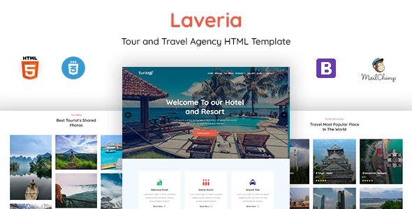 Laveria - Tour & Travel Agency Template - Travel Retail