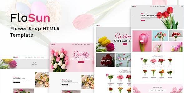 FloSun - Flower Shop HTML5 Template