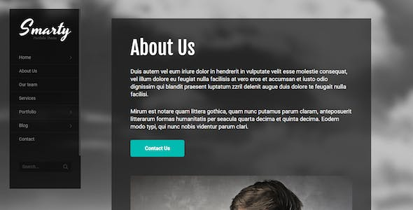 Smarty - Creative Agency & Portfolio Drupal 9 and 8 Theme with RTL