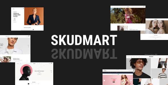 Skudmart - Minimal eCommerce HTML Template - Fashion Retail