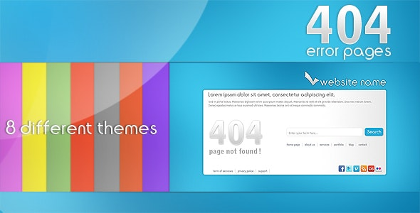 ak - 404 error pages - 404 Pages Specialty Pages