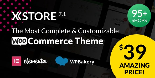 XStore v7.1 NULLED   online store template WordPress