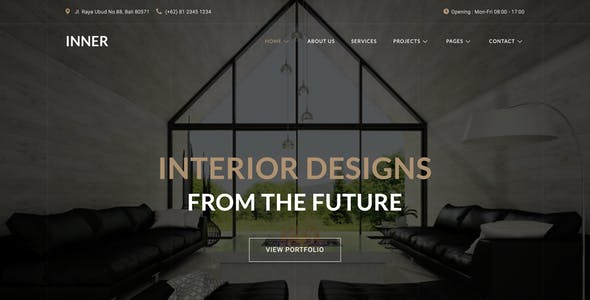 Inner – Interior Design & Architecture Template Kit