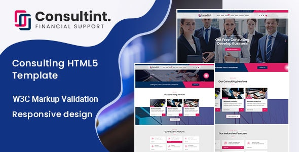 Consultint - Business, Finance Html Template - Business Corporate