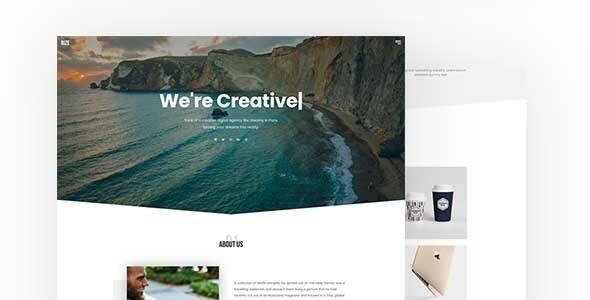 Rize - One Page Portfolio Joomla Template - Portfolio Creative