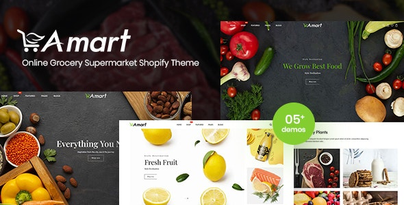 Amart - Online Grocery Supermarket Shopify Theme - Shopify eCommerce