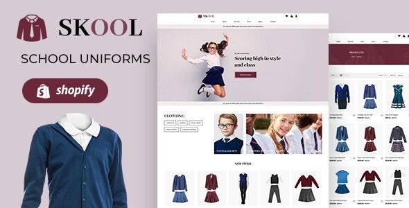 Skool | School Uniform, Kids Fashion Store Shopify Theme - Shopify eCommerce